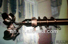ac shower curtain rod,finials for curtain rod,chrome iron curtain rods