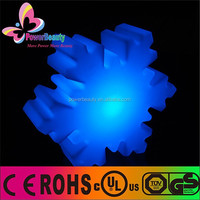 illuminate multicolor led snowflakes for wedding/Christmas/vacation/party