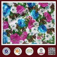 Feimei novelty 90% polyamide 10% elastane fabric flower poly knit