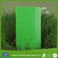 Yellow Green Gloss Powder Paint