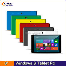 Customize made 8 inch 7 inch win8.1 Intel Z375F quad core ips 1280x800 mid tablet pc