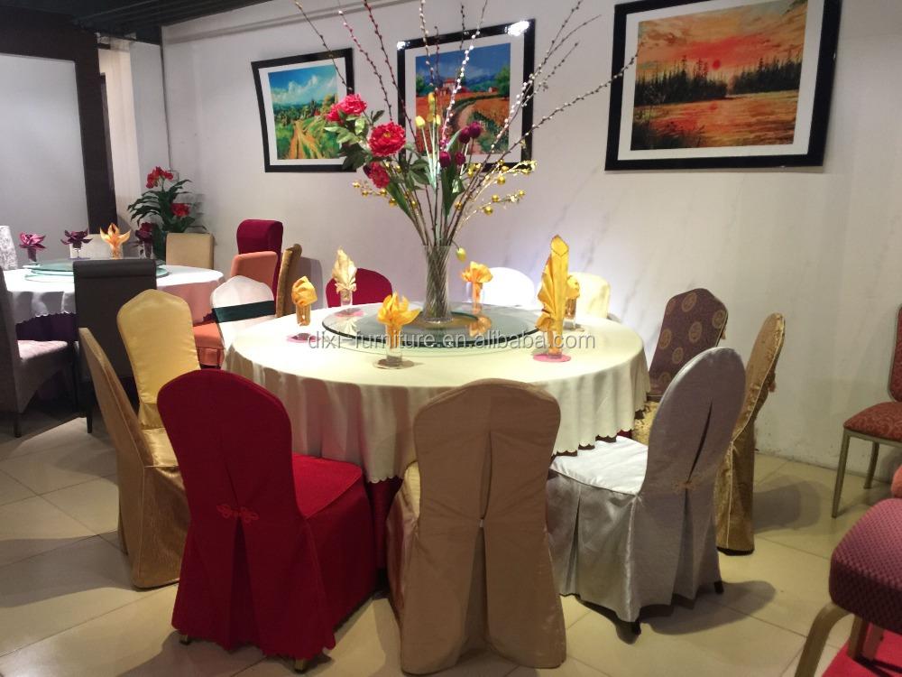 DIY 식당 의자 커버 연회 가구 입기 웨딩 리셉션 독특한 호텔 새틴 ...