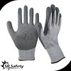 SRSAFETY 13G knitted liner coated PU gloves/Anti-cut work gloves/cut protect gloves