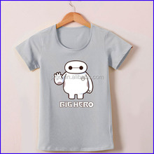 china import export clothes big hero print funny design army t shirts