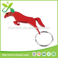 الحصان الأحمر على شكل سلسلة المفاتيح فتحت زجاجة لتعزيز
