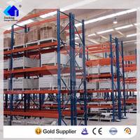Jracking walmart shelf metal storage shelves ISO9001 certified pallet racking