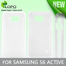New printable blank 3D sublimation phone case for Samsung galaxy S6 active