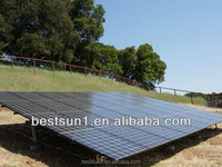 Both AC and DC output 10000w solar panel kits for home use
