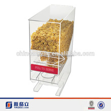 Very Low Price Acrylic Dry Food Dispenser