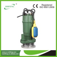 QDX series submersible electric farm water pump generator
