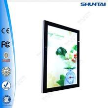 led magnetic acrylic front aluminum light box frame