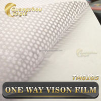 Self Adhesive One Way Vision Vinyl Window Film Window Cover Glass Sticker One Way Vision