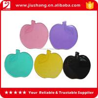 Apple shaped PU car anti slip gel pad for mobile phone
