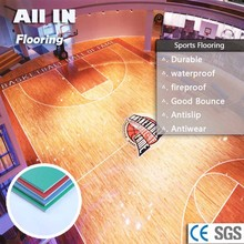 Water and Fire Proof PVC Sports Flooring