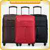 2015 wholesale soft shell trolley sets custom design luggage sets nylon luggage trolley sets