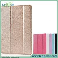 Wholesale Luxury Silk Pattern Smart Wake Sleep Flip Cover Tablet Case for Xiaomi Mipad