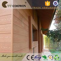 wood plastic exterior decorative brick wall