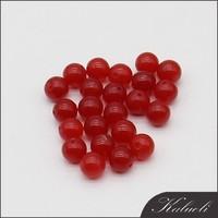 Wholesale semi precious stone 8mm loose red gemstone agate beads