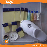 China Brand hotel toothbrush and paste hotel amenities for hotel
