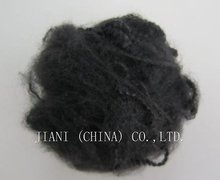 Black Polyester Staple Fibre Recycled