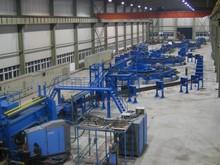H Beam Assembly Line