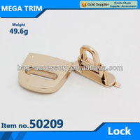 No.50209 lock for safe,lead free metal lock for travel bag, desirable nice lock