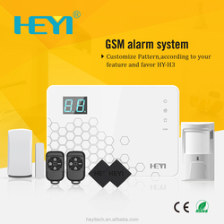 Hot GSM Anti-theft Home Wireless Alarm System with SMS and voice calling