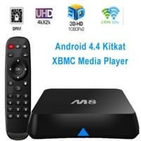 2015 Top Quality Orginal M8 Amlogic S802 Quad Core Android 4.4 Smart TV Box Support Bluetooth 4.0, 4K*2K, XBMC, 2G+8G TV Box And