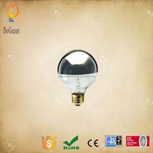Globe light G80 decorative lights Shadowless Lamp Half Silver Bowl Bulb pendant lighting