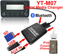 High quality usb/bluetooth/mp3/wma music adapter for usb car stereo adapter