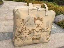 Home textile packaging bag Clear PVC Plastic Bag PVC Package Bag rope handle