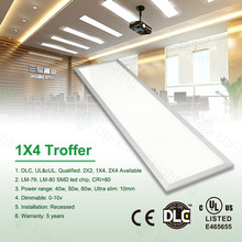 High quality led ceiling office panel lighting 0-10V Dimmable 50W high brightness 300*1200 UL & DLC approved
