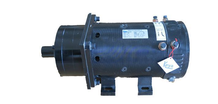 48v 4kw 1500rpm Gear Motor Electric Motor With Reduction