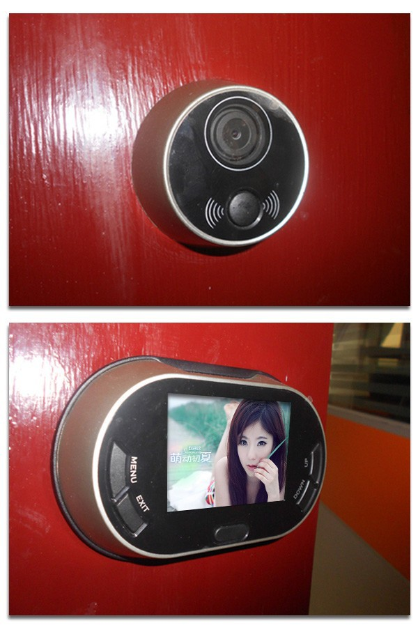 Дверной глазок 3,5/lcd 3502 170 digital door peephole viewer