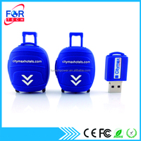 Luggage Shape Branded USB Flash Drive Promotional Gift Items USB Memory Stick