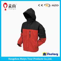 Maiyu nylon material and raincoats polyester waterproof windbreaker jacket and pant