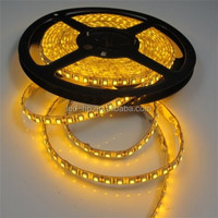 High quality 9.6w/m 3528 yellow led ring light,Led SMD5050/3528 diwali lights strip