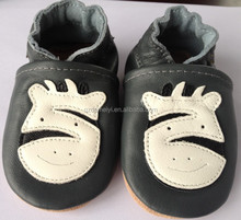 New Design Soft Leather Zebra Baby Shoes