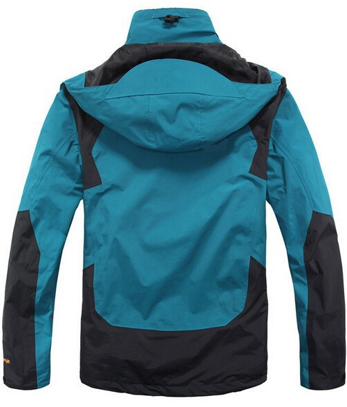 бренд домкрата полярных капюшоном мужчины Открытый водонепроницаемый восхождение куртка размер s-2xl windbreake человек wolfskins горы одежду jk-2