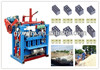 New multi-function light weight QMJ4-35A mini brick plant/ interlocking hollow block making machine