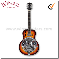[WINZZ] Linden Plywood Body Electric Resonator Dobro Guitar (RGS90)