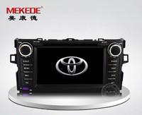toyota corolla 2012 Car Radio Cassette with GPS Navigator DVD player