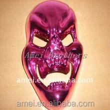 OEM PVC masquerade vacuum formed plastic party masks
