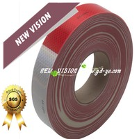 Closed to 3M self-adhesive reflective road floor marking tape, reflecting tape