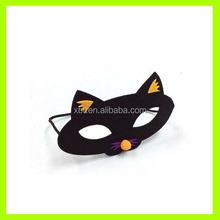 halloween decoration cat felt mask