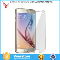 New mobile phone for Samsung galaxy S6 edge 9H high quality no dust explosion tempered glass screen protector
