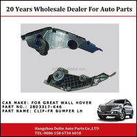 2803317-K46 Front Bumper LH Clip For Great Wall Hover H5