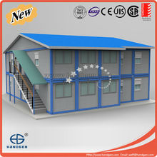 Foldable sandwich panel container prefabricated house