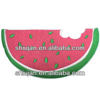 custom embroidery watermelon design patch for baby garment