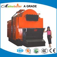 DZL coal fired travelling chain grate stoker steam boiler,small commercial steam boiler price